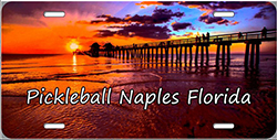 Pickleball Naples License Plate