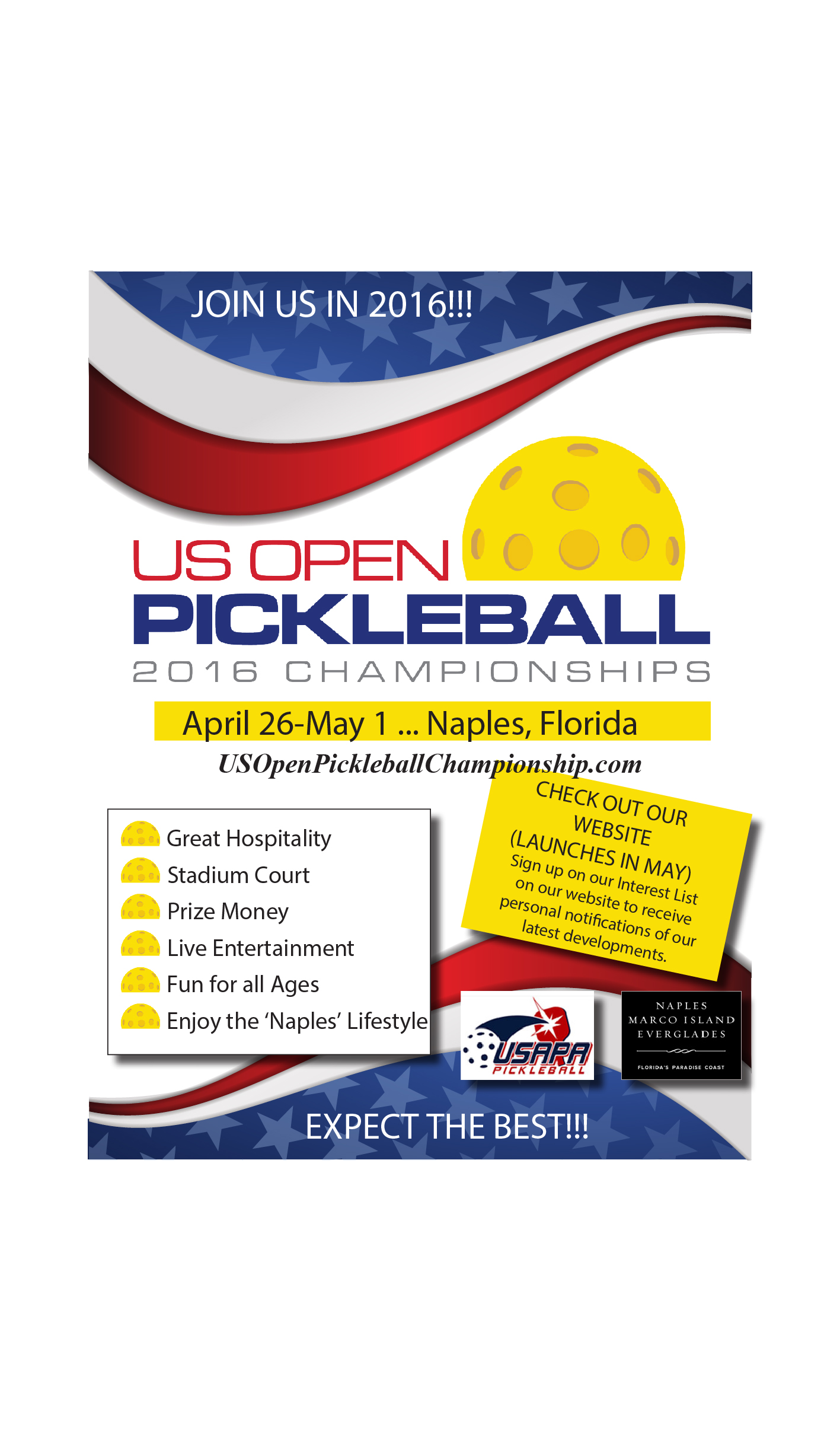 US OPEN FLYER April 2015